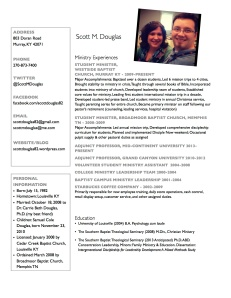 ScottDouglasResume